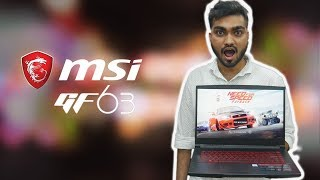 Best Budget Gaming Laptop From MSI In 2018 | #MSI GF63 Unboxing And First Impression