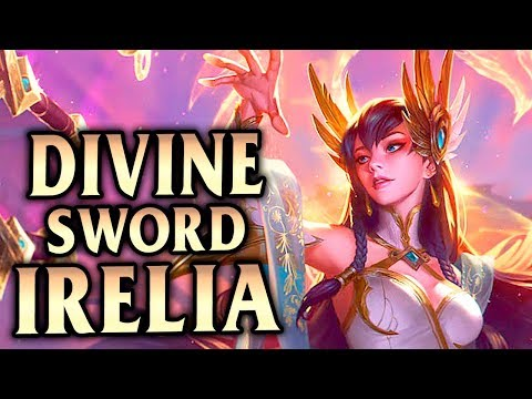 New Divine Sword Irelia Skin! How To Carry With Irelia Mid Guide - League Of Legends S8
