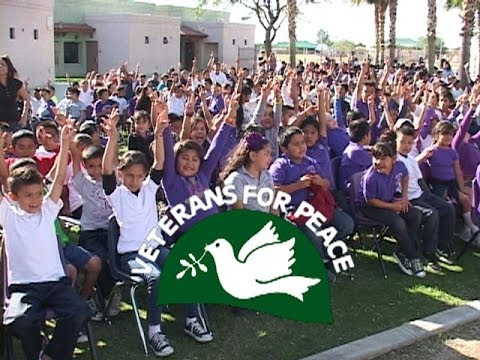Mecca  Peace Pole Dedicated at Saul Martinez Elementary School