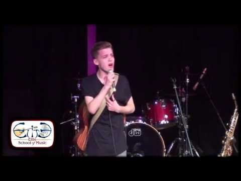 Reece Bibby of Stereo Kicks performs Latch and Too Close
