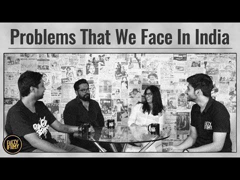Problems That We Face in India feat. Sarathkumar & Varalaxmi | Fully Filmy Mind Voice