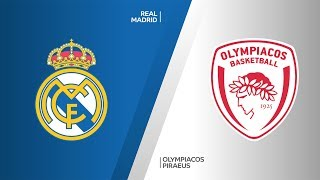 Real Madrid - Olympiacos Piraeus Highlights | Turkish Airlines EuroLeague, RS Round 13