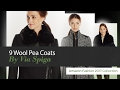 9 Wool Pea Coats By Via Spiga Amazon Fashion 2017 Collection