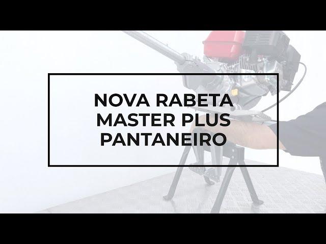 116 - apresentação nova rabeta longa MASTER PLUS Pantaneiro