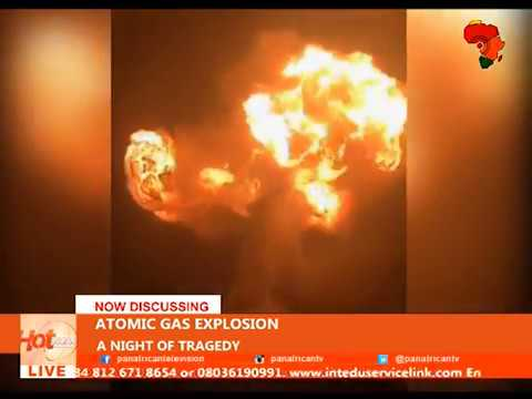 HOT NEWS @ Pan African TV.- Ghana Madina - Atomic Junction GAS Explosion