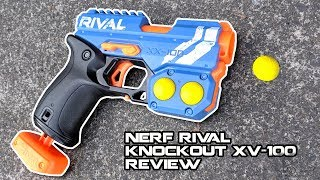 2019 NERF RIVAL KNOCKOUT XV-100 REVIEW (my dream blaster?) | Walcom S7