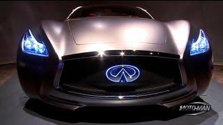 Infiniti Electric Sports Car Concept 2012 Videos