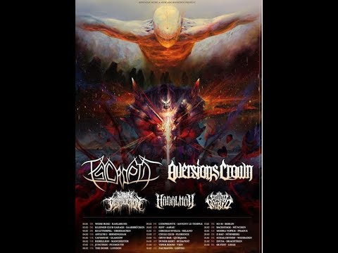 Psycroptic tour dates released for 2019 Tour w/ Cannabis Corpse, Gorod and Micawber!