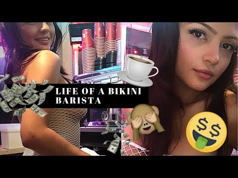 DAY IN THE LIFE OF A BIKINI BARISTA 👙☕ | DO BIKINI BARISTAS MAKE MORE THAN STRIPPERS?! 💸💸 VLOG