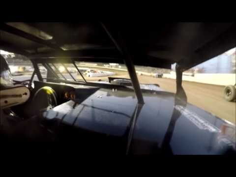 GoPro In-Car Camera with the #42 of Clint Young at I-55 Raceway Heat Race 9/3/16