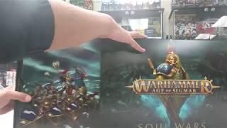 4am - Age of Sigmar Soul Wars Unboxing (Part 1)