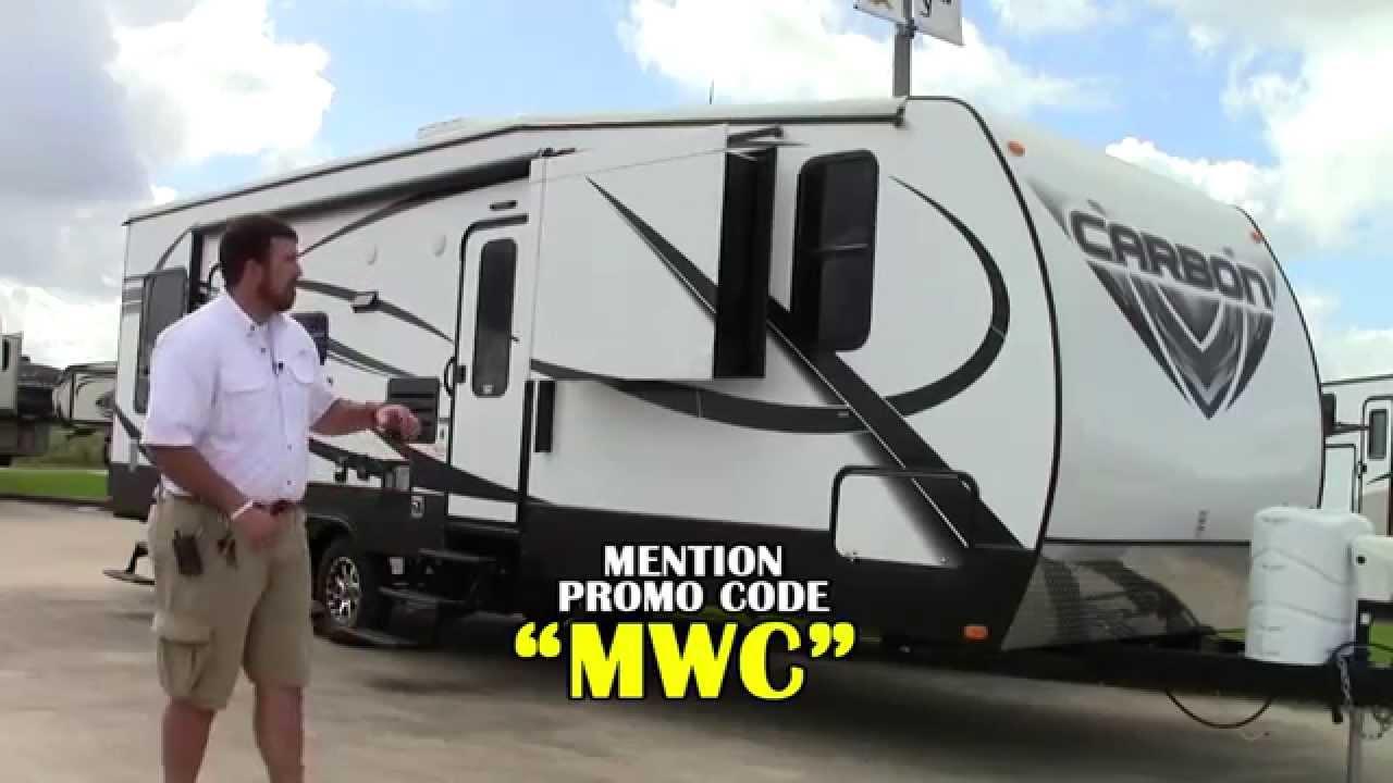 New 2014 Keystone Carbon 31 Travel Trailer Toy Hauler RV