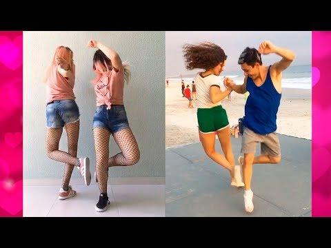 Best Foot Shake Dance Challenge Compilation | Best Couple & BFF Goals 2018 #FootShake