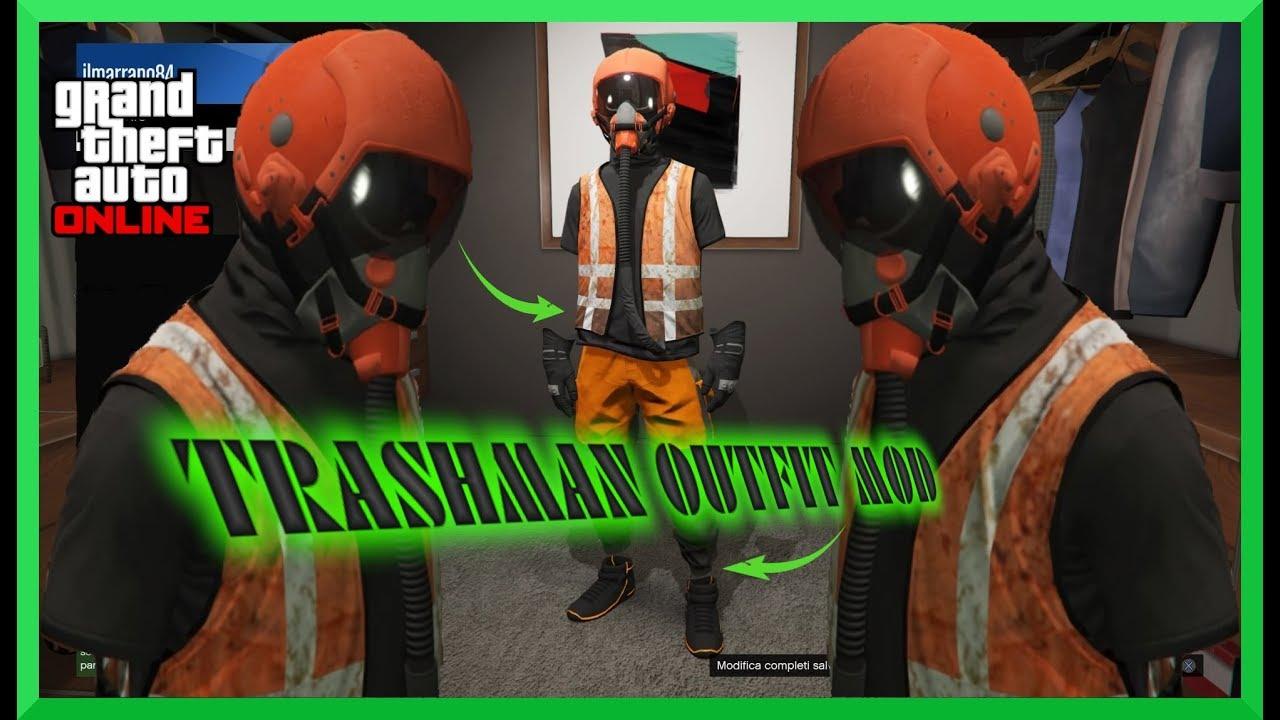 Completo mod Trashman Gta5 online