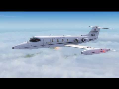 FSX STEAM] St  Louis to Indianapolis feat  Xtremeprototypes Learjet