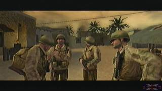 Call of Duty 2 Big Red One - Tunisia, Mission 4 [1/2]