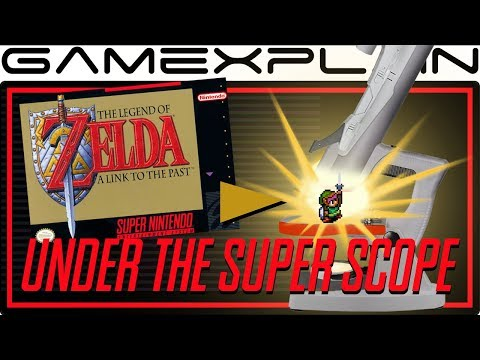 Zelda: A Link to the Past's Wonderful World(s) - Under the Super Scope