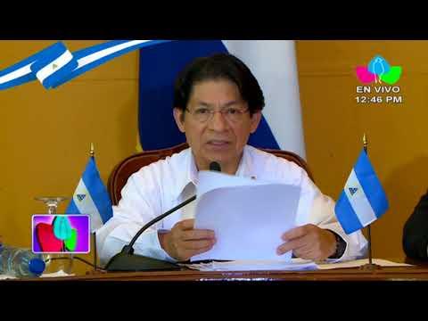 Posición del Gobierno de Reconciliación y Unidad Nacional respecto al diálogo nacional