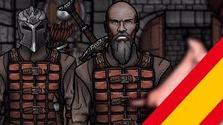 The Senile Scribbles : Skyrim Parody Parte 9 (Doblaje-Castellano)