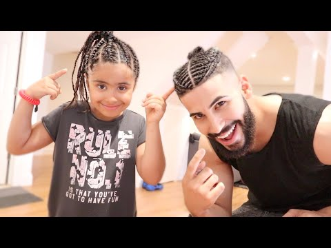 We Got Our Hair Braided.. (NEW HAIRSTYLE) thumbnail