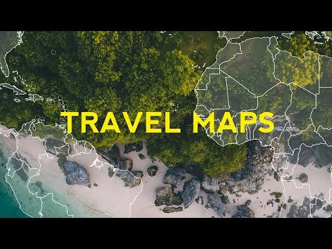 How to Create Easy Travel Maps in After Effects