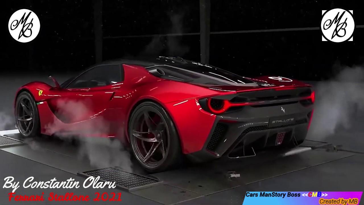 2021 concept ferrari stallone new car - youtube