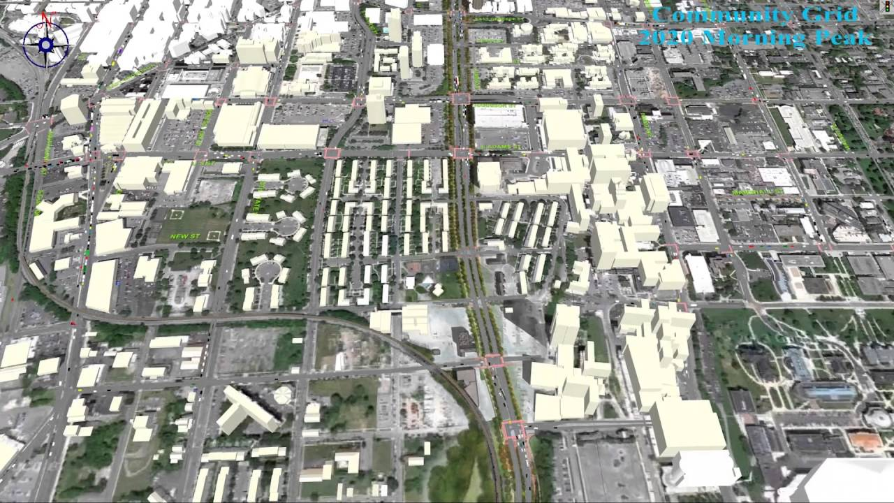 I-81 alternatives: grid option brings city traffic to the downtown streets  in 2020