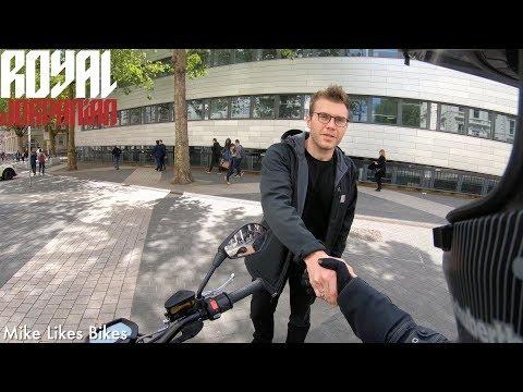 Just a conversation between 2 bikers