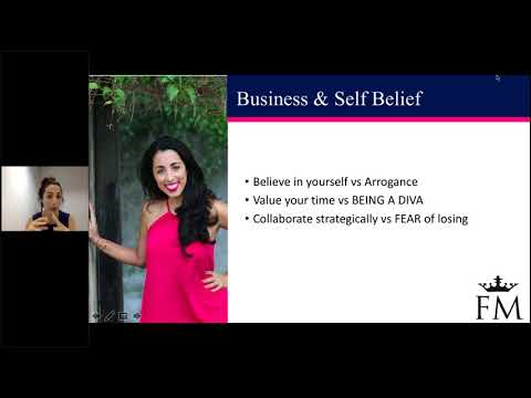 FM Business Shortcut Webinar - The fine line between Ego and Self Belief - 12th March 2018