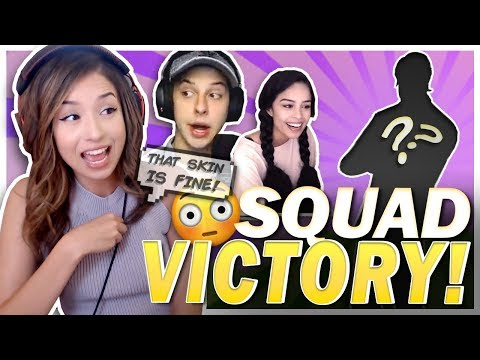 THE HOTTEST SKIN IN THE GAME!? Fortnite Victory Ft. Cizzorz & Valkyrae!