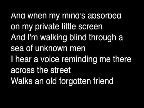 Creed Bratton - All The Faces (lyrics)