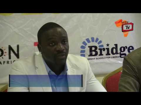 Akon Vows to Support Liberia's Energy Needs