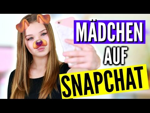 echte Mädchen auf Snapchat