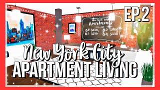 ROBLOX | Bloxburg: NYC Apartment Living | Lobby Ep.2
