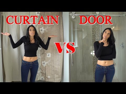 3 Reasons to Buy a Shower Door VS a Curtain