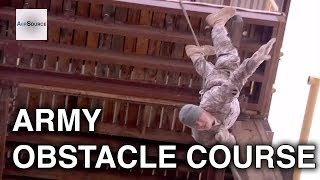 US Army Fort Bliss Obstacle Course