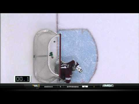 New York Ranger's Brad Richards Scores With 0.1 Seconds Left In The Game