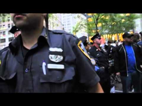 Police arrests this morning 20th sep 2011 2 #occupywallstreet