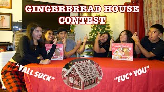 HILARIOUS GINGERBREAD HOUSE COMPETITION  Vlogmas 2020