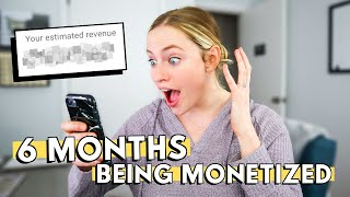 How Long It Takes To MAKE $10,000 IN YOUTUBE ADS REVENUE: My first 6 months of YouTube paychecks