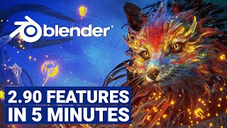 Blender 2.90 New Features in LESS than 5 minutes