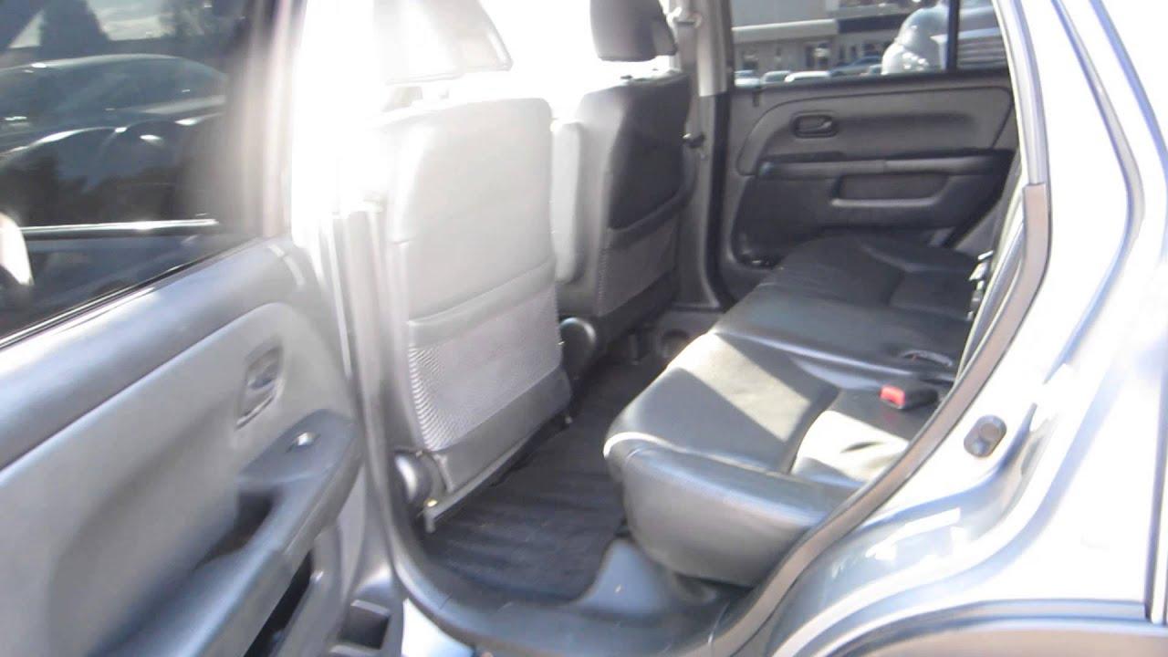 2006 honda cr v silver moss metallic stock 14918b for Honda crv 2006 interior
