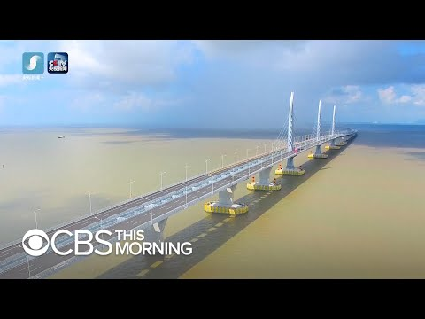 Hong Kong residents see new bridge as Chinese propaganda