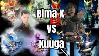 Satria Naga Bima X VS Kamen Rider Kuuga