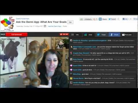 Ask the Danni App Show - Goal Setting, Listing Templates and More eBay Tips