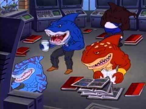 Street Sharks: Lone Shark | Season 2 | Episode 2 | (Full episode)