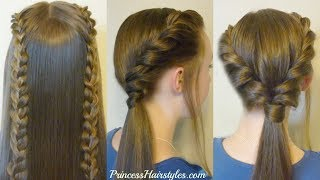 3 Easy Back To School Hairstyles, Part 2