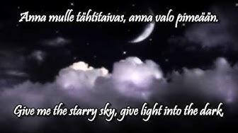 Anna mulle tähtitaivas w/lyrics (english, finnish) - Katri Helena
