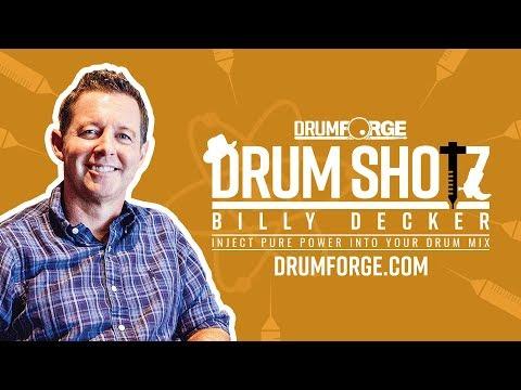 Drumshotz Billy Decker Now Available!