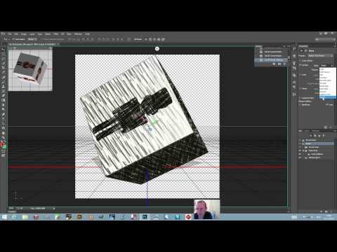 Photoshop CC / 14.1 : Create a 3D Cube